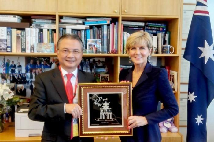 Australische Medien: Neue Ära in der 45jährigen Beziehungen zwischen Vietnam und Australien - ảnh 1