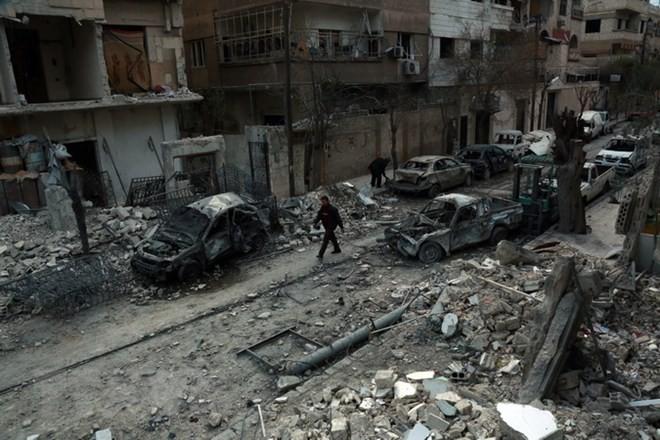 Russland beschuldigt die Rebellen in Syrien, einen Giftgasangriff zu planen - ảnh 1