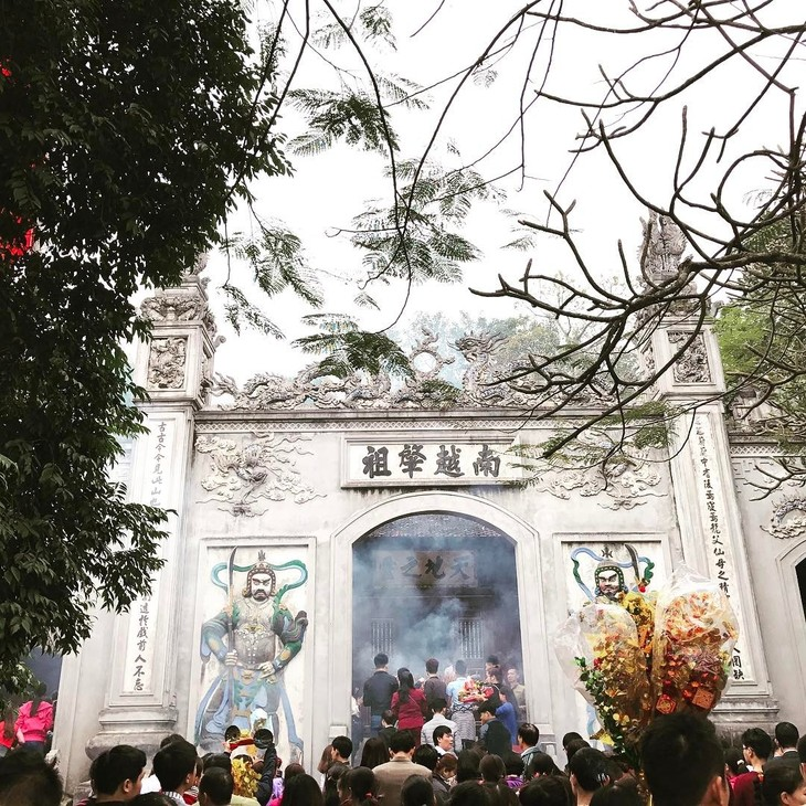 Glaube zur Verehrung der Hung-Könige der ethnischen Minderheiten in Phu Tho - ảnh 1