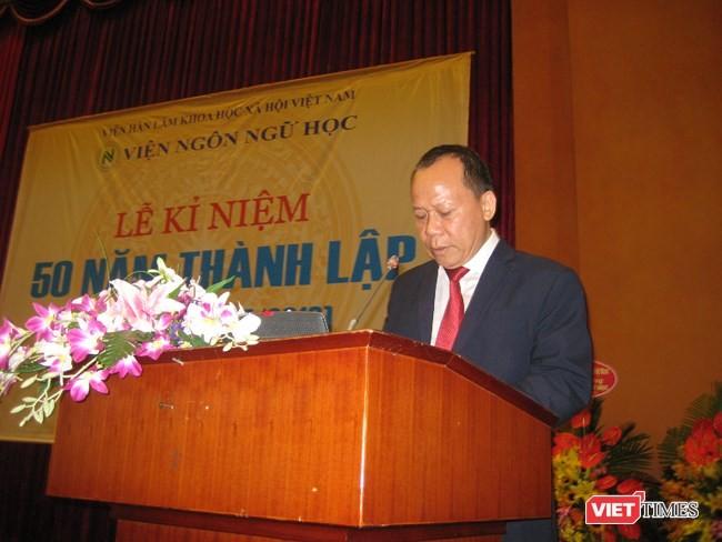 Feier zum 50. Gründungstag des Instituts für Sprachwissenschaft - ảnh 1