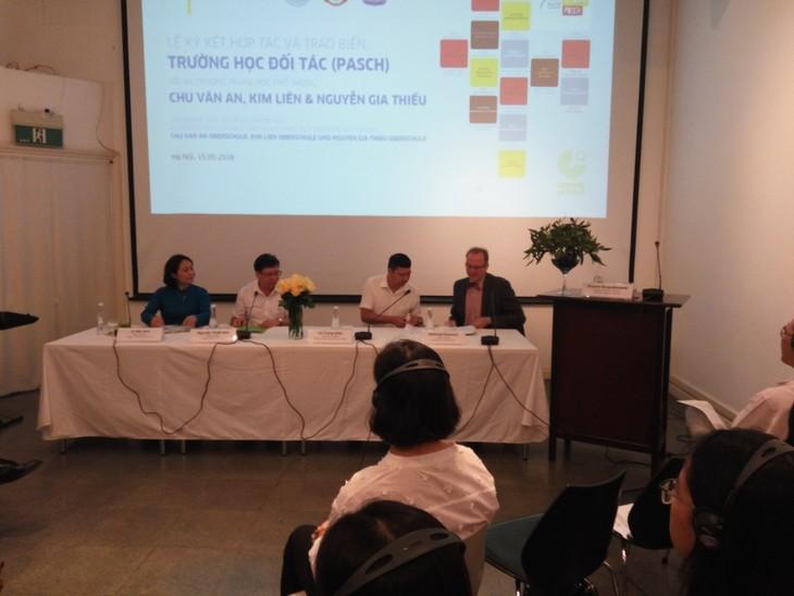 Drei vietnamesische Oberschulen werden mit PASCH vernetzt - ảnh 1