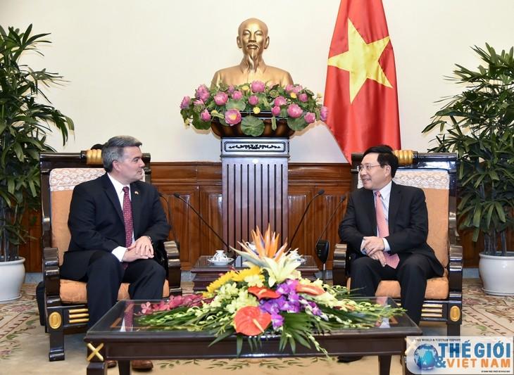 Verstärkung der freundschaftlichen Beziehungen zwischen Vietnam und USA - ảnh 1