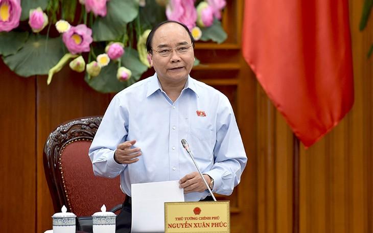 Premierminister Nguyen Xuan Phuc tagt mit Provinzleitern in Soc Trang - ảnh 1
