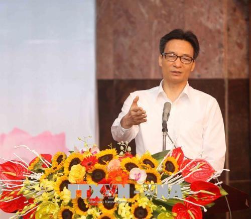 Vizepremierminister Vu Duc Dam betont drei Hauptaufgaben für ein glückliches Leben - ảnh 1
