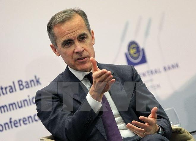 Zentralbank von Großbritannien warnt vor einem Brexit ohne Abkommen - ảnh 1