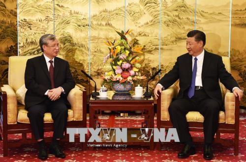 Weitere Verbesserung der Beziehungen zwischen Vietnam und China - ảnh 1