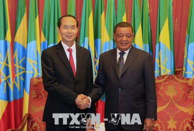 Gemeinsame Erklärung zwischen Vietnam und Äthiopien - ảnh 1