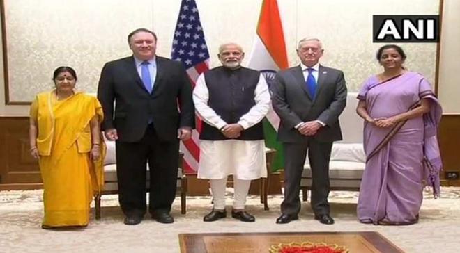 Indien und die USA verpflichten Zusammenarbeit bei der Terrorbekämpfung  - ảnh 1