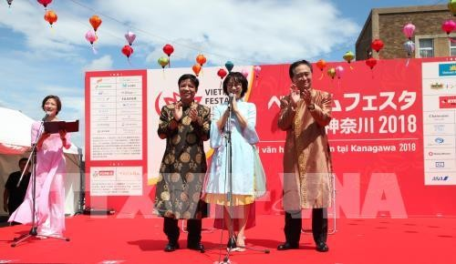 Lebendiges vietnamesisches Fest im Japanischen Kanagawa - ảnh 1