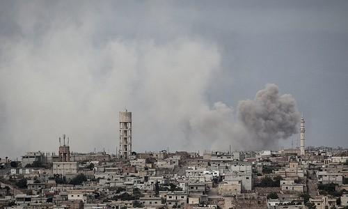 Syrische Rebellen inszenieren Chemiewaffenangriff in Idlib - ảnh 1