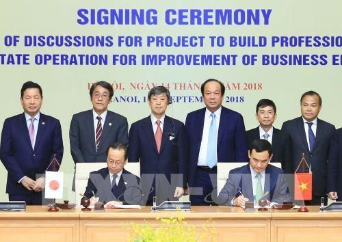 Zusammenarbeit zwischen dem Regierungsbüro und der JICA im Aufbau der elektronischen Regierung - ảnh 1