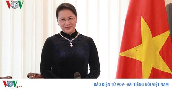 Parlamentspräsidentin nimmt an der Konferenz der Parlamentspräsidenten der eurasischen Staaten teil  - ảnh 1