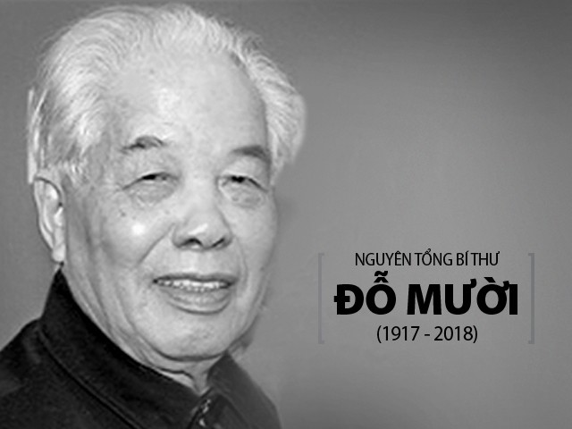 Spitzenpolitiker und internationale Parteien schicken Beileidtelegramme zum Tod des ehemaligen KPV-Generalsekretärs Do Muoi  - ảnh 1