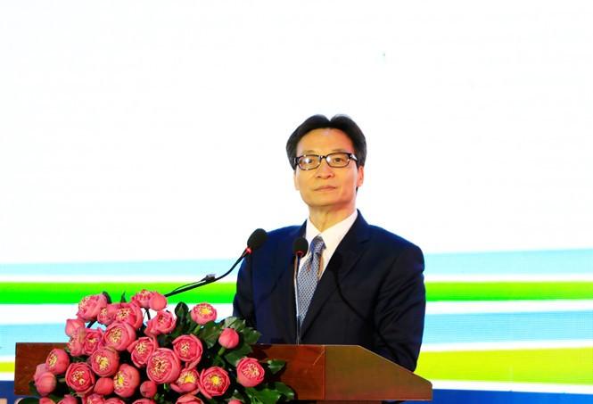 Vizepremierminister Vu Duc Dam nimmt an der Eröffnung der Konferenz des Weltverbands der Wissenschaftsstädte teil - ảnh 1