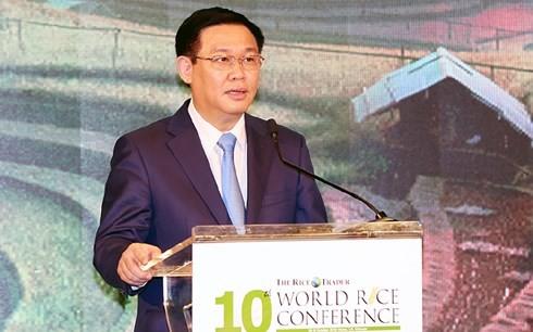 Vizepremierminister Vuong Dinh Hue: Vietnam achtet auf Verbesserung der Qualität und den Wert von Reis - ảnh 1