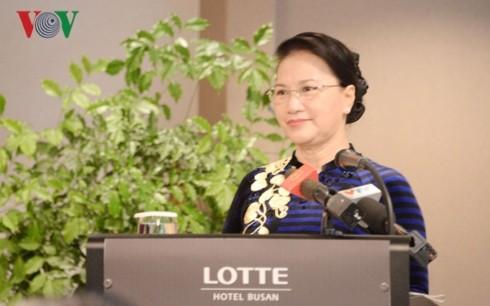 Vietnamesen in Südkorea gelten als Brücke für die Verbindung, Zusammenarbeit und Entwicklung beider Länder - ảnh 1
