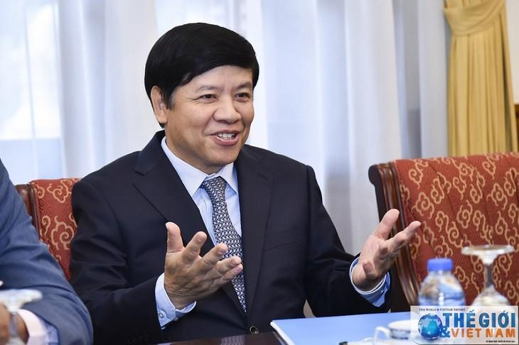 Vizeaußenminister Nguyen Quoc Cuong empfängt Botschafter und Leiter der Vertretungsbüros Afrikas in Vietnam - ảnh 1