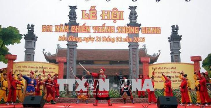 592. Jahrestag des Sieges Xuong Giang: Symbol der Stärke des vietnamesischen Volkes - ảnh 1