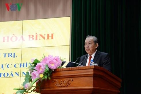 Tagung des ständigen Vizepremierministers Truong Hoa Binh mit dem staatlichen Rechnungshof - ảnh 1