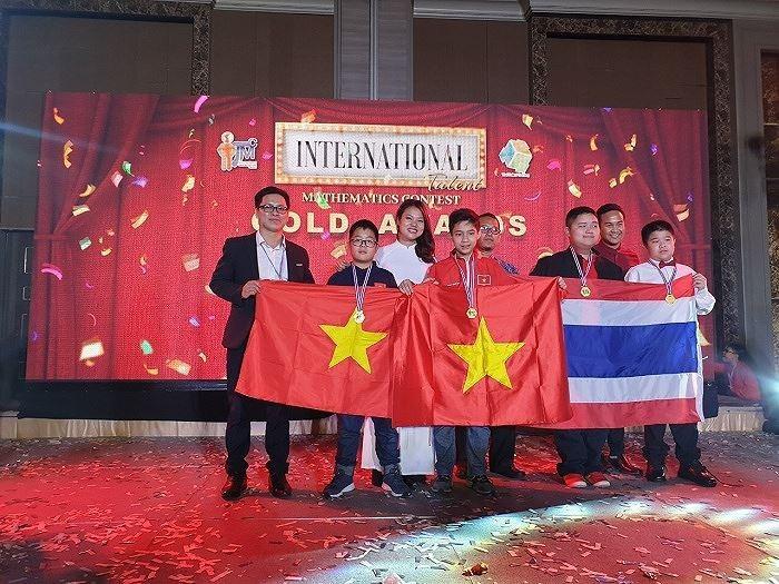 Hanoier Schüler erreichen gute Leistung beim internationalen Wettbewerb zur Suche nach Mathematik-Talenten 2019 - ảnh 1
