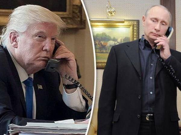 Präsidenten der USA und Russlands telefonieren über viele heikle Themen - ảnh 1