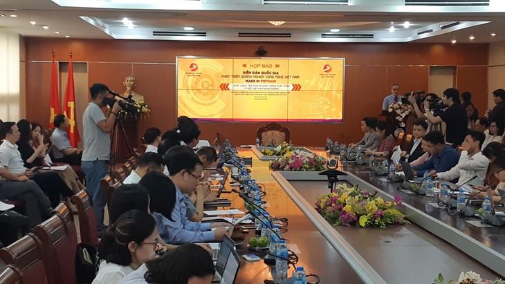 Erstes nationales Forum zur Entwicklung von Technologieunternehmen in Vietnam - ảnh 1