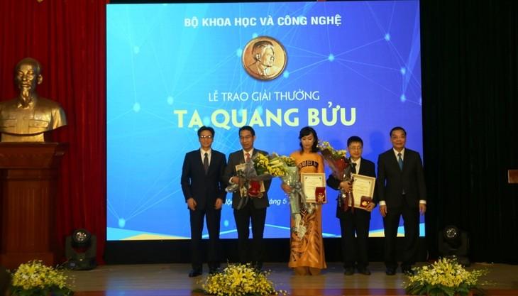 Verleihung des Ta Quang Buu-Preises über Wissenschaft und Technologie - ảnh 1