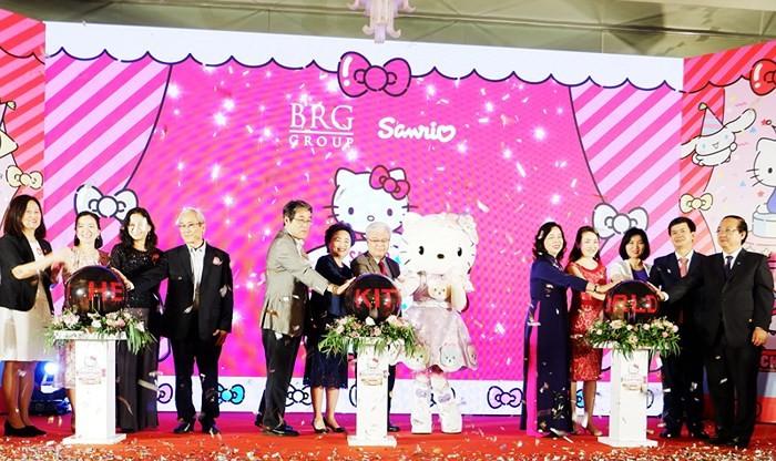 """Hanoi: Der größte Komplex Südostasiens für Freizeitsaktivitäten """"Sanrio Hello Kitty"""" wird 2021 in Betrieb genommen - ảnh 1"""