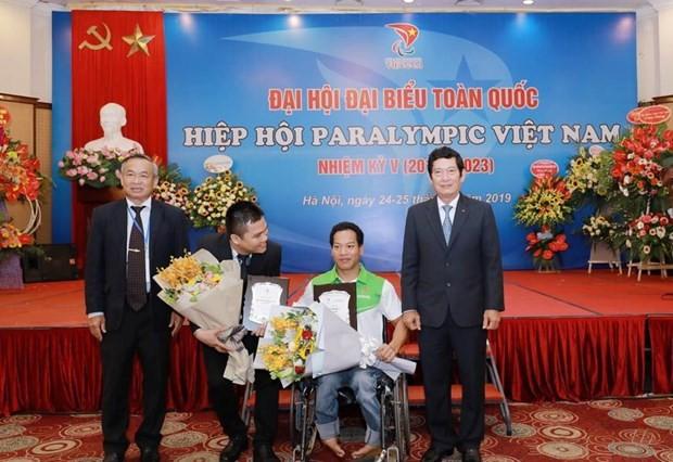 Ehrung der vietnamesischen Sportler mit Behinderung - ảnh 1