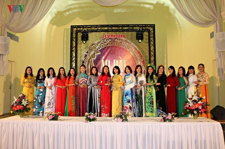 Start des Ao Dai-Wettbewerbs für Botschaftergattinnen der vietnamesischen Vertretungsbüros in Europa 2020 - ảnh 1