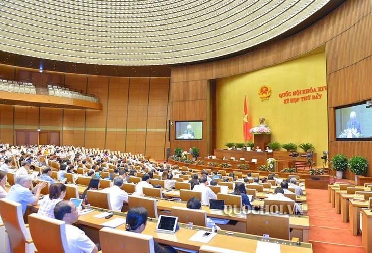 Parlamentssitzung: Erkennen von Herausforderung zur Planung der sozialwirtschaftlichen Entwicklung - ảnh 1