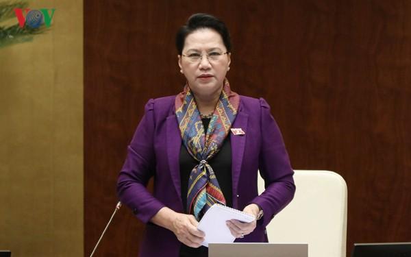 Parlamentspräsidentin Nguyen Thi Kim Ngan besucht China - ảnh 1