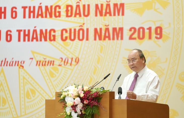 Premierminister: Chancen zur Erfüllung der Entwickungsziele 2019 gut nutzen - ảnh 1