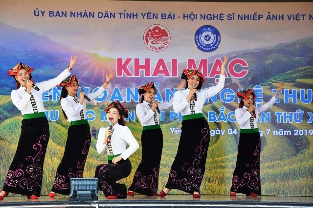 Eröffnung des Festivals der Kunstfotografie der Bergregion in Nordvietnam - ảnh 1
