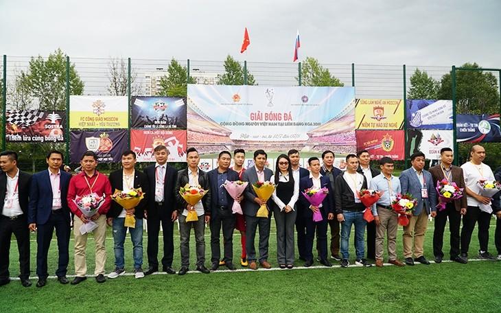 Eröffnung des Fußballturniers der vietnamesischen Gemeinschaft in Russland - ảnh 1