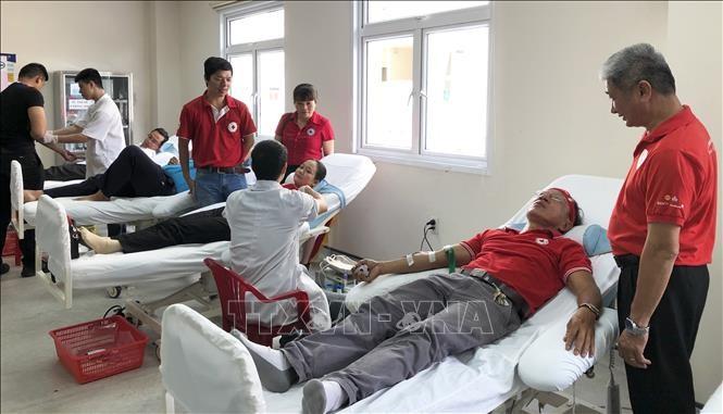 Rote Fahrt 2019: Blutspenden in der Stadt Hue - ảnh 1