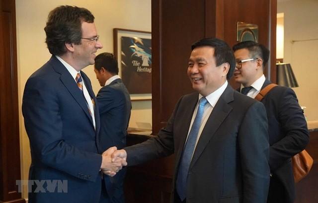 Vietnam und USA treiben die umfassende Zusammenarbeit voran - ảnh 1