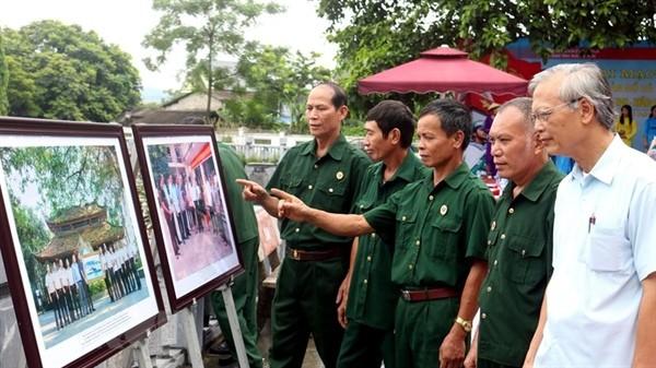 Ausstellung für Landkarten und Dokumente über Inselgruppen Truong Sa und Hoang Sa in Thai Nguyen - ảnh 1
