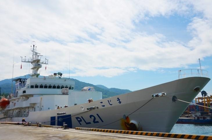 Leiter in Da Nang empfängt Besatzungsmitglieder des Schiffes der japanischen Küstenwache - ảnh 1