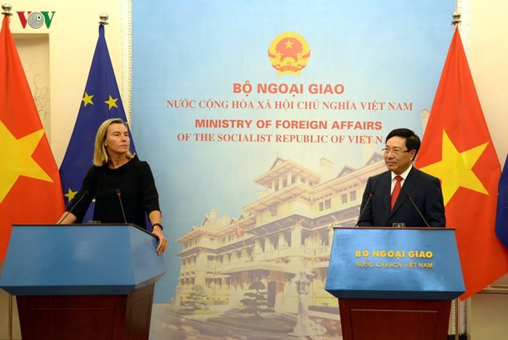 EU teilt die Besorgnis Vietnams über die jüngste Spannung im Ostmeer - ảnh 1