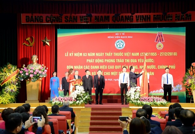 Vietnam marks Physicians' Day  - ảnh 1