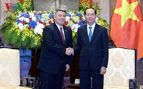 Vietnam values comprehensive partnership with US: President - ảnh 1