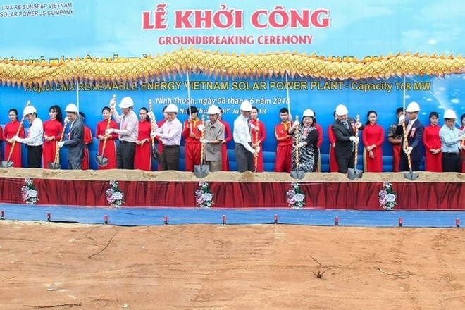 Vietnam's biggest solar power plant built in Ninh Thuan - ảnh 1