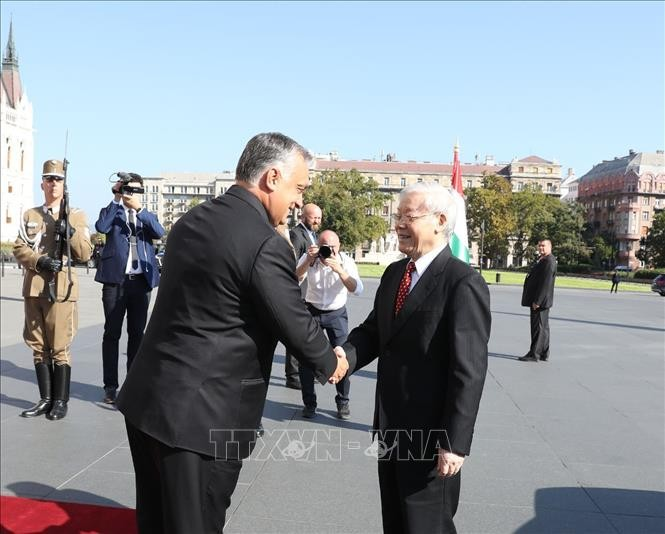 Vietnam-Hungary ties upgraded to comprehensive partnership  - ảnh 1