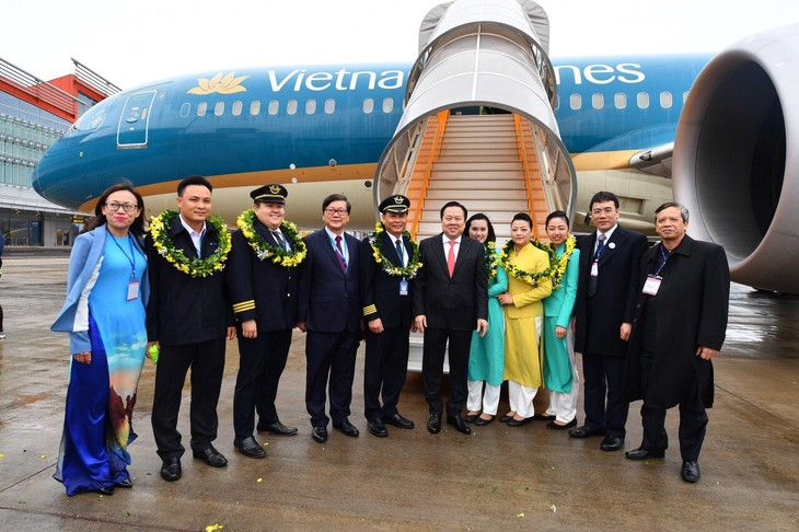 Vietnam Airlines opens HCM city-Van Don route - ảnh 1