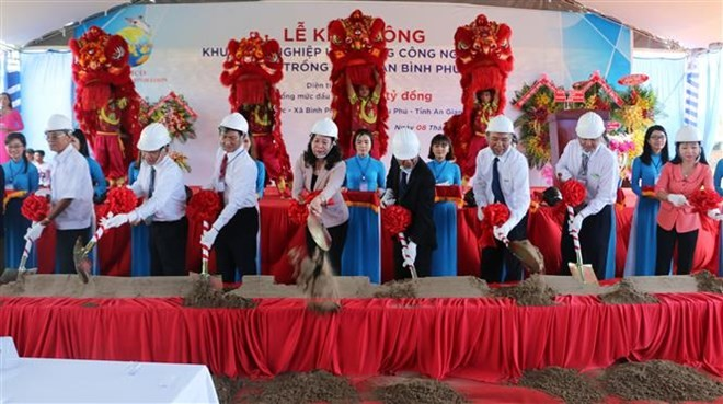 Work begins on Vietnam's largest tra fish farming project - ảnh 1