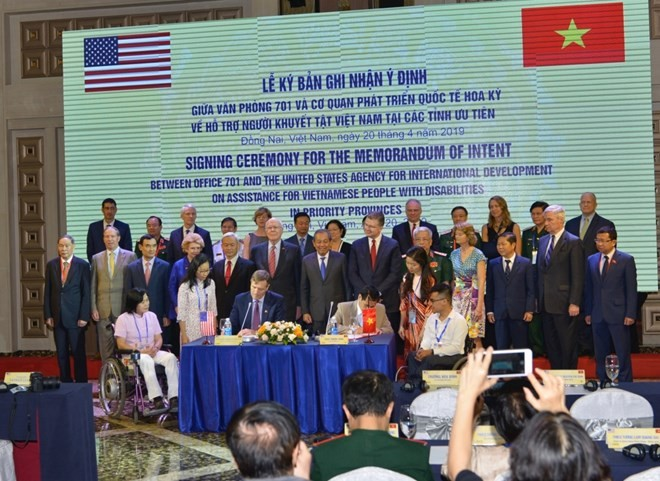 USAID supports people with disabilities in Vietnam - ảnh 1