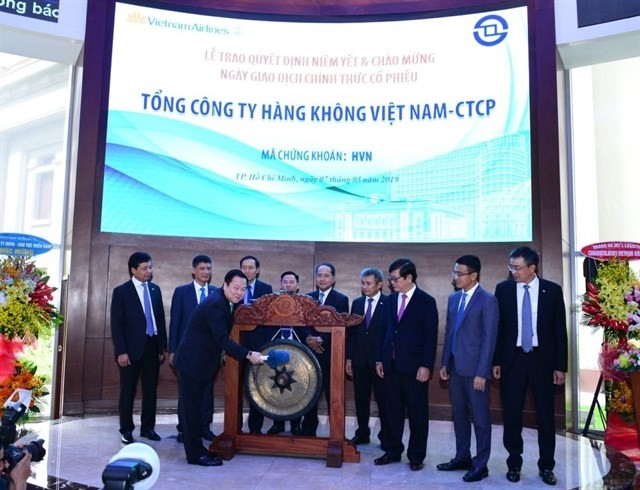 Vietnam Airlines stock debuts on HCM city bourse - ảnh 1
