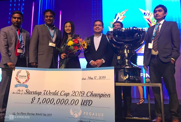 Vietnamese startup wins one million USD at 2019 World Cup  - ảnh 1