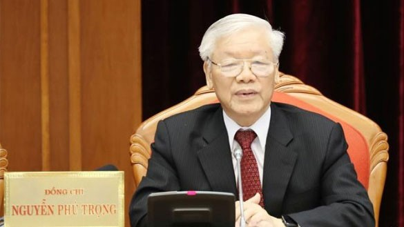 Party Central Committee's plenum closes  - ảnh 1